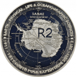 2 Rand, South Africa, 2012, Silver, Reverse, Proof - SOUTH POLE