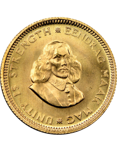 1 Rand, South Africa, 1964, Gold