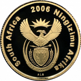 2006 The Ema-Swati Nation, Obverse (R1, 1/10 oz, 24 ct gold)