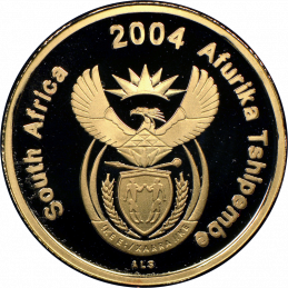 2004 The Venda Nation, Obverse(R1, 1/10 oz, 24 ct gold)