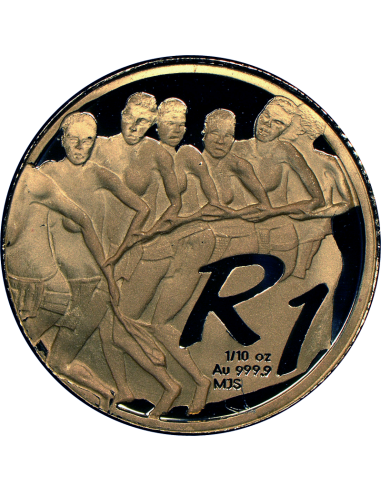 2004 The Venda Nation, reverse (R1, 1/10 oz, 24 ct gold)