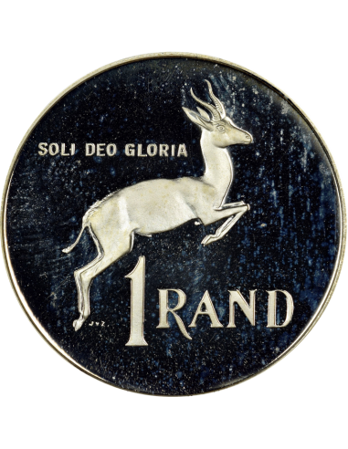 One Rand, South Africa, 1984, Nickel