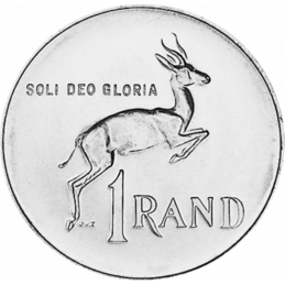One Rand, South Africa, 1978, Nickel