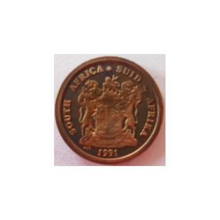 1 Cent, South Africa, 1991