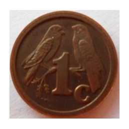 1 Cent, South Africa, 1992