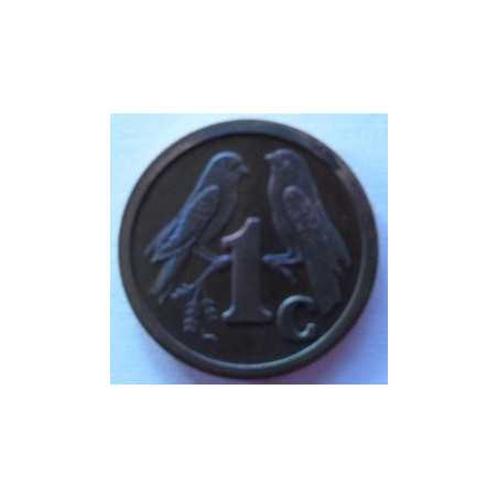 1 Cent, South Africa, 1993