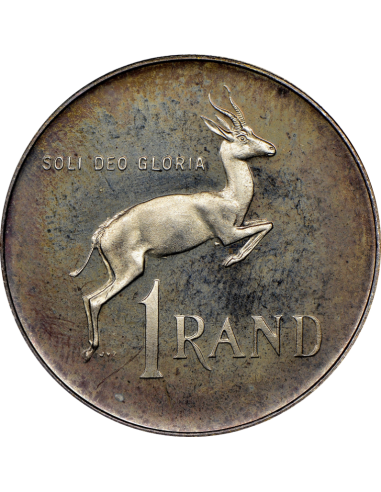 One Rand, South Africa, 1978, Silver