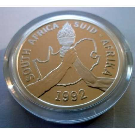 2 Rand, South Africa, 1992, Barcelona Olympics