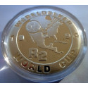 2 Rand, South Africa, 1994, Soccer World Cup