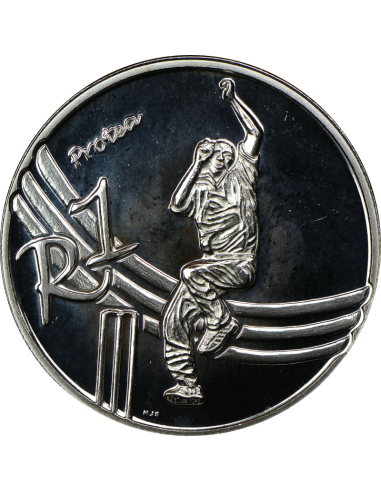 R1, South Africa, Protea 2003, Silver...