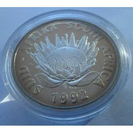 1 Rand, South Africa, Protea 1992, Proof