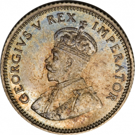 SixPence, South Africa, 1928, Silver, Obverse