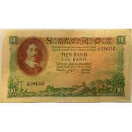 10 Rand, South Africa, 1961-1965