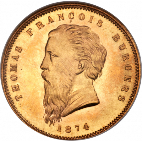 Pond, Zuid-Afrikaansche Republiek, 1874 Fine Beard, Gold