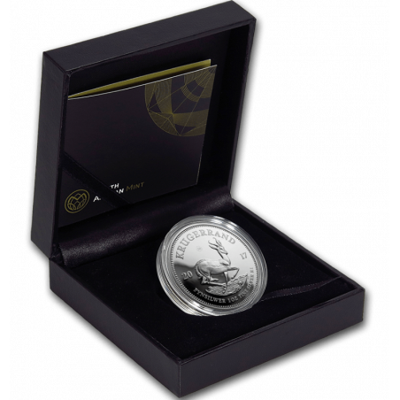1oz Krugerrand, South Africa, 2017, Silver in Box