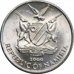 5 Cent, Namibia, 2000 - FAO - Obverse
