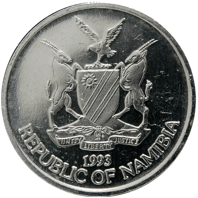 10 Cent, Namibia, 1993 - Obverse