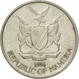 10 Cent, Namibia, 1996 - Obverse