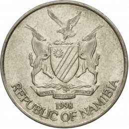 10 Cent, Namibia, 1998 - Obverse