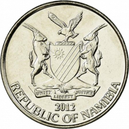 10 Cent, Namibia, 2012 - Obverse