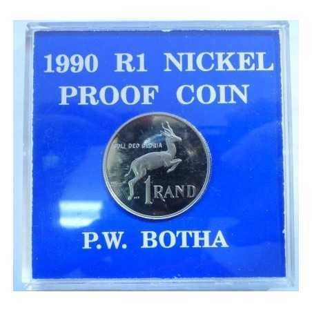1 Rand, South Africa, 1990, Proof