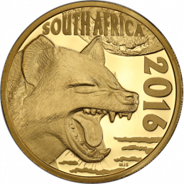 2016 The Spotted Hyena - Obverse Gold