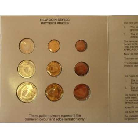 New Coin Series, South Africa, 1989, UNC