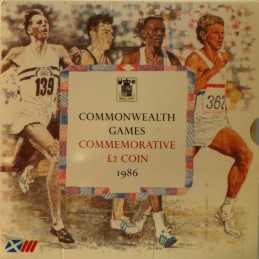 2 Pounds, Commonwealth Games, 1986, UNC