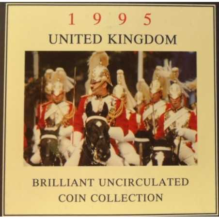 United Kingdom, Brilliant UNC Collection, 1995