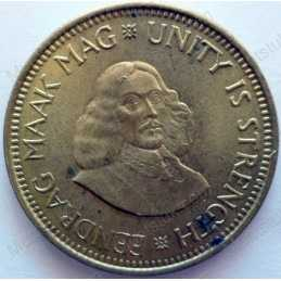 ½ Cent, South Africa, 1961
