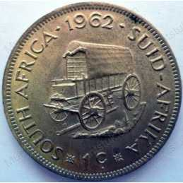 1 Cent, South Africa, 1962