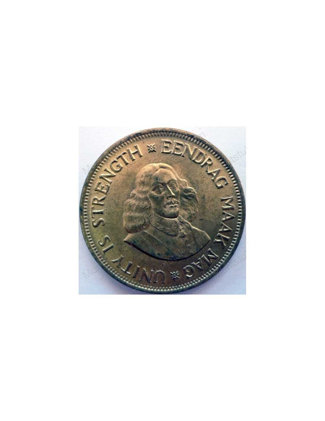 Coin From South Africa 1961 1964 1963 1 Cent