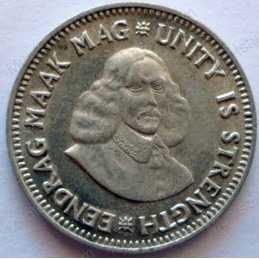 Two and a Half cent, South Africa, 1961
