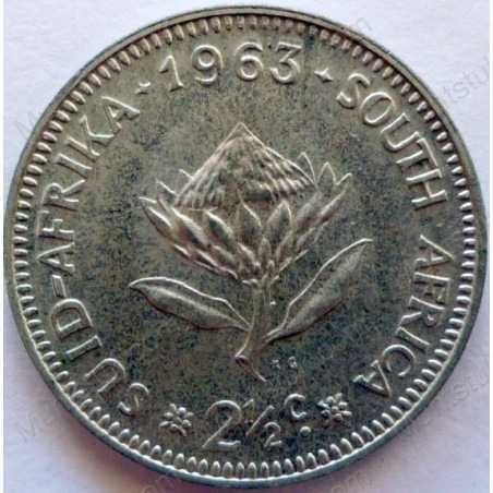 Two and a Half cent, South Africa, 1963