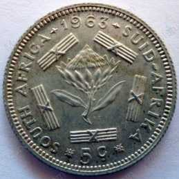 5 Cent, South Africa, 1963