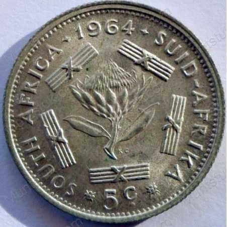 5 Cent, South Africa, 1964