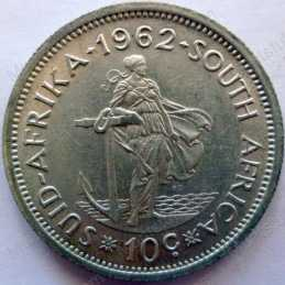 10 Cent, South Africa, 1962