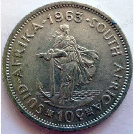 10 Cent, South Africa, 1963