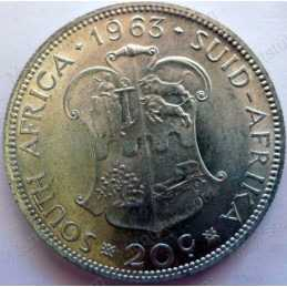 20 Cent, South Africa, 1963
