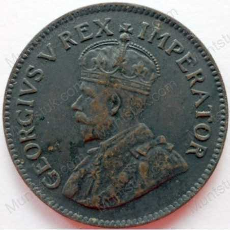Quarter Penny, South Africa, 1931, Brass