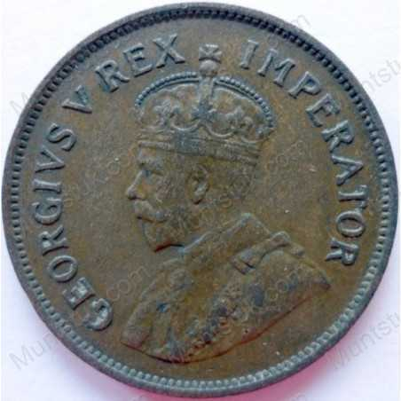 Halfpenny, South Africa, 1931, Brass
