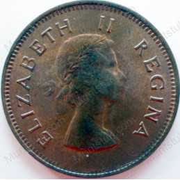 Halfpenny, South Africa, 1953, Brass