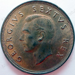 Penny, South Africa, 1950, Brass