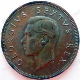 Penny, South Africa, 1952, Brass