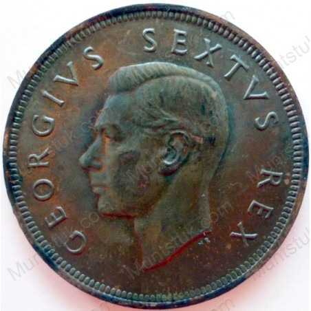 Penny, South Africa, 1952, Brass