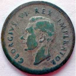 Threepence, South Africa, 1939, Silver