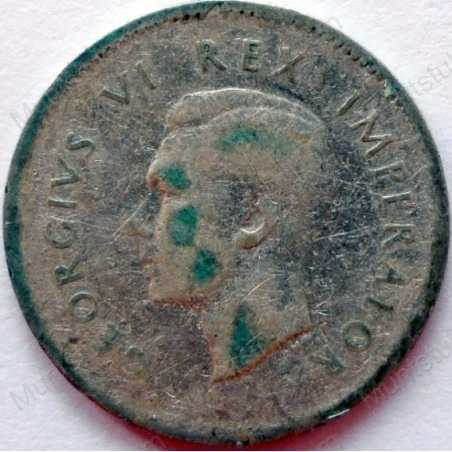 Threepence, South Africa, 1942, Silver