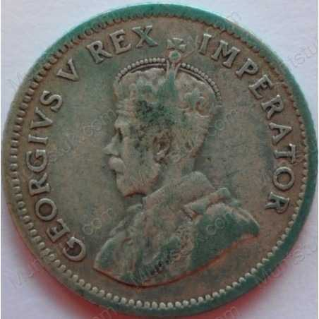 SixPence, South Africa, 1934, Silver
