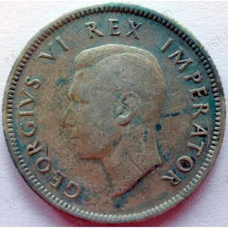 Shilling, South Africa, 1938, Silver
