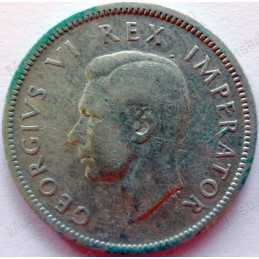 Shilling, South Africa, 1941, Silver